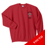 18000B - S234-E001 - EMB - Youth Crewneck Sweatshirt