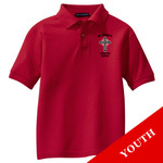 Y500 - S234-E001 - EMB - Youth Easy Care Polo
